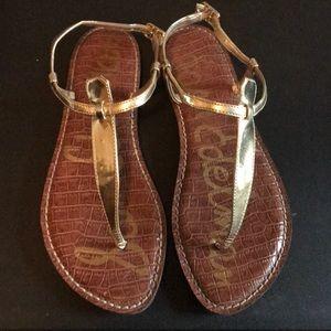Sam Edelman flat sandals size 8